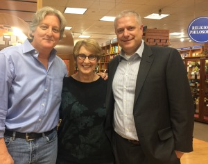 With Terry Shames and Mark Pryor at Bookpeople, Austin, TX, January 24, 2017.