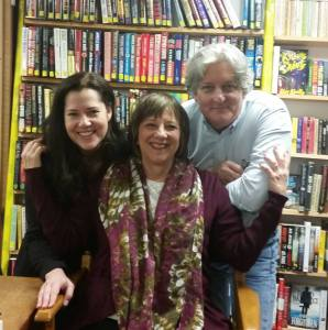 February 9, 2017, at Seattle Mystery Bookshop with Deborah Crombie and Ingrid Thoft.